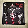 "Original Woven Mercyful Fate ""Nuns Have No Fun"" Patch."