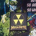 Megadeth- Logo Woven Patch