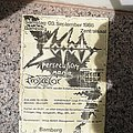 Sodom - tourflyer 88 Other Collectable