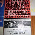 Kreator - Other Collectable - Rock Hard Open Air - Festivalticket 1991