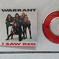warrant - i saw red mini cd