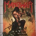 Manowar - Other Collectable - Manowar - flag 1992