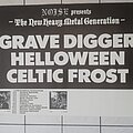 Celtic Frost - Other Collectable - Celtic Frost - Tourposter 1986