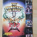 Metallica - Other Collectable - Monsters of rock - Tour book 87