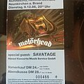 Motörhead - Other Collectable - Motorhead - Tourticket 86