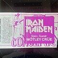 Iron Maiden - Other Collectable - Iron Maiden - world piece tour 83 ticket