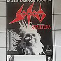 Sodom - Other Collectable - Sodom/Sepultura - Tourposter