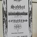 Sabbat - Other Collectable - Sabbat - concert flyer