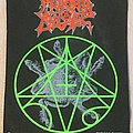 Morbid Angel  - Blessed are the Sick back patch