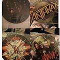 "Anthrax 12 & 10"" vinyls Tape / Vinyl / CD / Recording etc"