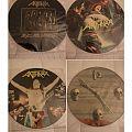 "Anthrax 12"" picture disc's Tape / Vinyl / CD / Recording etc"