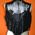 W.A.S.P. leather vest Battle Jacket