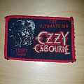 Ozzy Osbourne - Patch - Ozzy Osbourne - Ultimate Sin Patch
