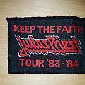Judas Priest - Patch - Judas Priest - Keep the Faith Tour Patch