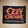 Ozzy Osbourne - Patch - Ozzy Osbourne - Castle Donington Patch