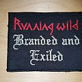 Running Wild - Patch - Running Wild - Branded and Exiled
