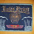 Judas Priest - Patch - Judas Priest - Sin after Sin - light blue border