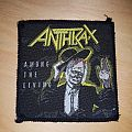 Anthrax Among the Living Patch square version