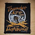 Thin Lizzy - Patch - Thin Lizzy - Thunder and Lightning - golden