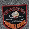 Gehennah - Patch - Gehennah Decibel Rebel vintage patch