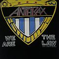 Anthrax - Patch - Anthrax ©1988 We Are The Law Backpatch