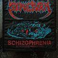 Vintage Sepultura Schizophrenia patch
