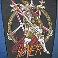 Slayer Show No Mercy backpatch not for sale or trade