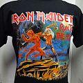 t-shirt Iron Maiden - Run To The Hills