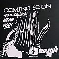 t-shirt Burzum - Coming Soon To A Church Near You! rare