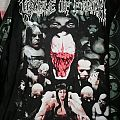 Long sleeve Cradle of Filth Canvas for a Like of Pain TShirt or Longsleeve