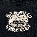 """Bad Seed """"World View"""" size L TShirt or Longsleeve"""