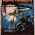 Iron Maiden - Patch - 2 Minutes To Midnight og back patch