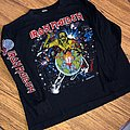 Iron Maiden - TShirt or Longsleeve - World Piece Tour Long Sleeve