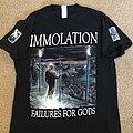 Immolation - TShirt or Longsleeve - Immolation - Failures For Gods reprint shirt