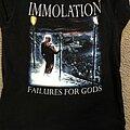 Immolation - TShirt or Longsleeve - Immolation - Failures for Gods shirt