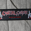 Cannibal Corpse - Patch - Cannibal Corpse - Full Of Hate, 93 Blue Grape