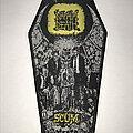 Napalm Death - Patch - Napalm Death Scum coffin patch