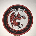 Sortilege - Patch - Sortilege ST circle patch red border