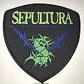 Sepultura - Patch - Sepultura shield patch