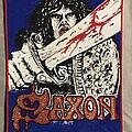 Saxon - Patch - Saxon back patch