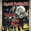 Iron Maiden - Patch - Iron Maiden Number Of The Beast back patch alternate version