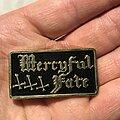 Mercyful Fate - Pin / Badge - Mercyful Fate pin gold version
