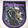Night Demon - Patch - Night Demon Curse Axe patch purple border