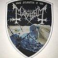 Mayhem - Patch - Mayhem Grand Declaration Of War shield patch white border