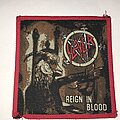 Slayer - Patch - Slayer Reign In Blood patch red border