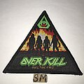 Overkill - Patch - Overkill Feel The Fire triangle patch