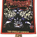 Possessed - Patch - Possessed The Eyes Of Horror patch red border