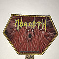 Morgoth - Patch - Morgoth Resurrection Absurd patch gold glitter border