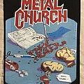 Metal Church - Patch - Metal Church back patch