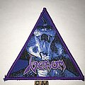 Venom - Patch - Venom triangle patch purple border